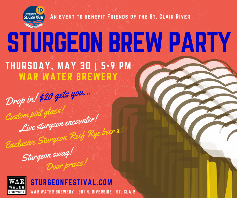 Sturgeon Brew Flyer