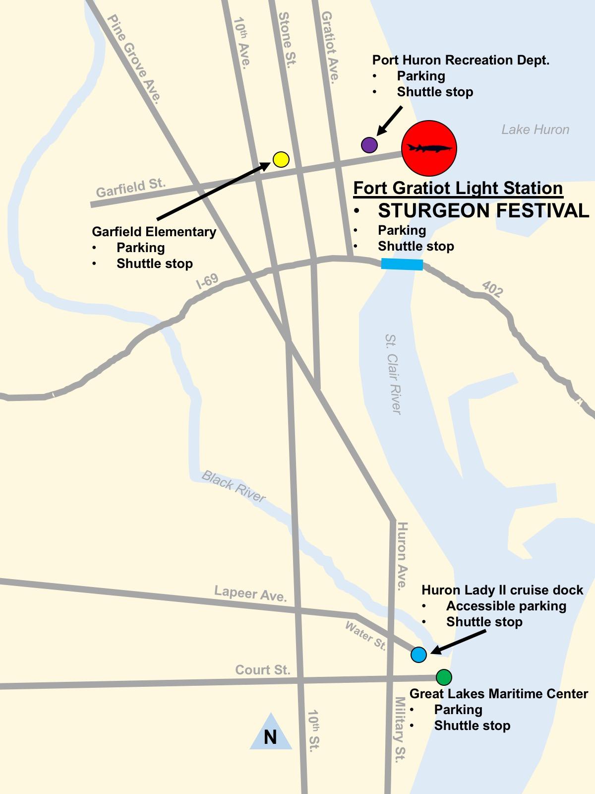 2019 Blue Water Sturgeon Festival