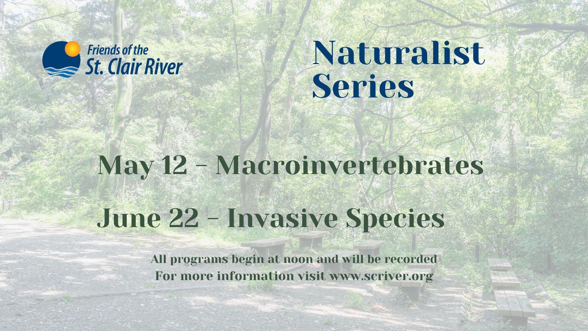 Naturalist Series May-June
